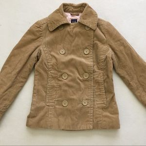 Gap Double Breasted Corduroy Lined Jacket XS
